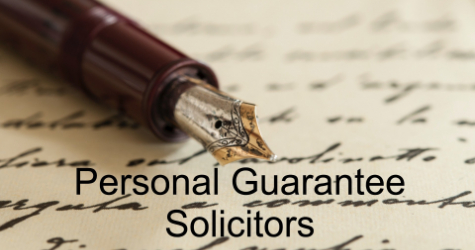 Personal Guarantee Solicitors